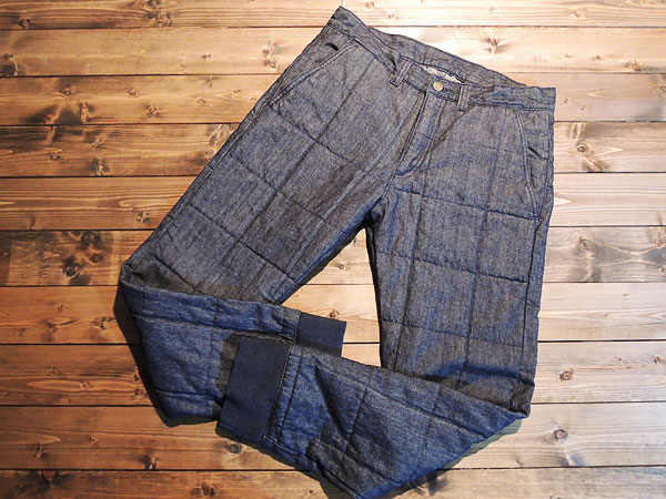 NASNGWAM(ナスングワム) LATTICE QUILT PANTS
